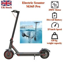 AOVO Pro Electric Scooter Powerful 350W with APP 36v 10.5ah - UK STOCK