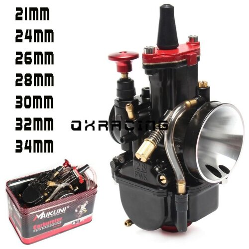 (mikuni 30) High Quality PWK Carburetor For MAIKUNI 2T 4T Engine Motorcycle Scooter UTV ATV