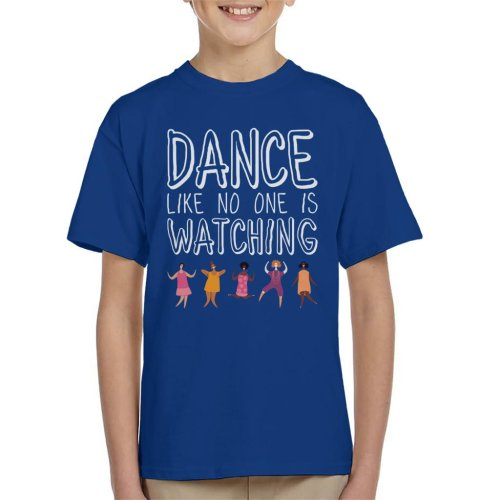 Girl Power Dance Like No One Is Watching Kid's T-Shirt