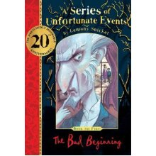 The Bad Beginning 20th anniversary gift edition A gorgeous hardback copy with red reading ribbon A Series of Unfortunate Events - Used