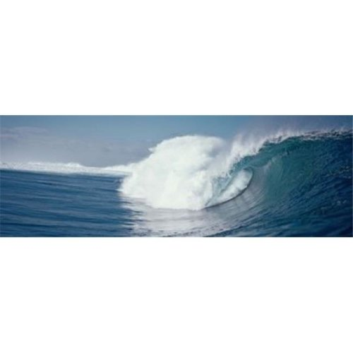 Waves splashing in the sea Poster Print by  - 36 x 12