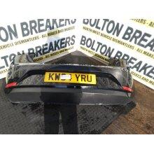 2008-2015 Seat Ibiza Mk4 Hatchback 5 Door Bumper (rear) Black Y9t - Used