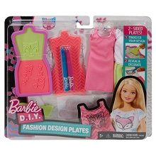 Mattel Barbie DYV68 - Fashion Designs Plates
