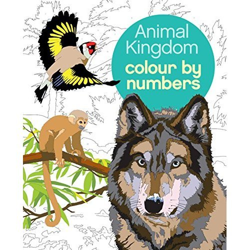 Colour by Numbers: Animal Kingdom