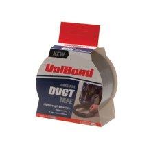 Unibond 1667265 Duct Tape Silver 50mm x 10m