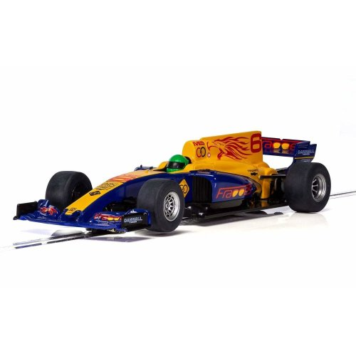 Scalextric C3960 - 1/32 Blue Wings F1 Slot Car