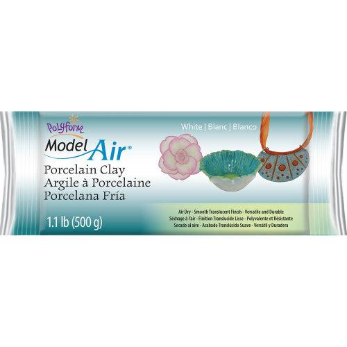 Model Air Porcelain Clay 1.1lb-White