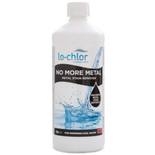 """Lo-Chlor """"No More Metal"""" Stain Remover   Pool Water Metal Treatment"""