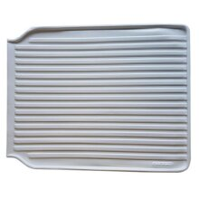 Leecroft PVC Plastic Draining Board Mat│Extension Tray Sink Protector│40 x 50cm