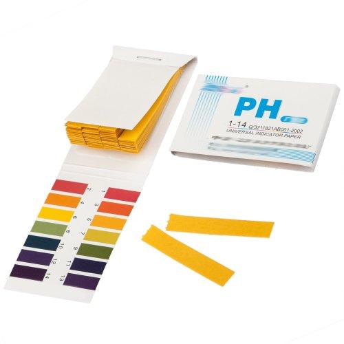80pc Litmus Test Paper Book | 80 Litmus Paper Strips