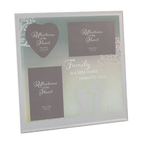 Reflections of The Heart Collage Photo Frame - Family
