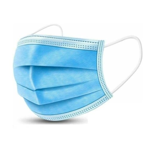(1 Pack) 3-Ply Disposable Face Mask