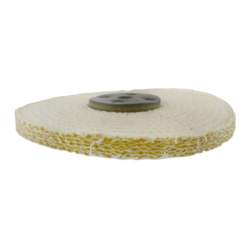 "Coarse Sisal Fast Cut Buffing Polishing Mop 8/"" x 0.5/"" 1 Section 1st Stage Metal"