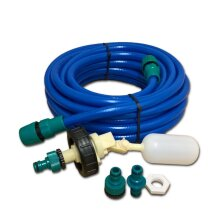 Mains Water Adaptor for Aquaroll Container with 10m Food Grade Hose