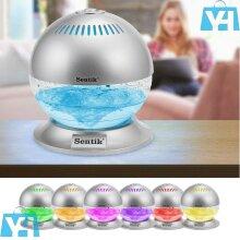 Globe Air Scent Revitalize Purifier Freshener Color LED Light