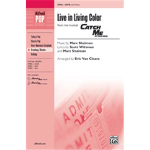 Alfred 00-39985 LIVE IN LIVING COLOR-STRX CD