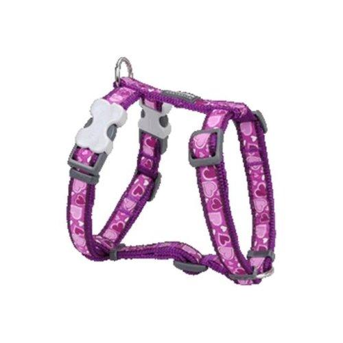 Dog Harness Design Breezy Love Purple, Large