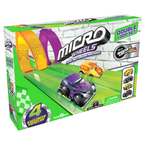 Micro Wheels Double Loop Pack