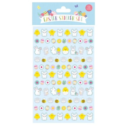 Easter Sticker Set - Pack Of 72 Stickers