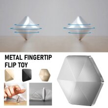 Flipo Flip Desk Metal Fingertip Kinetic Skill Toy