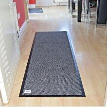 Abaseen Non Slip Barrier Mat Runner Kitchen Door (Grey, 90x200cm)