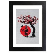 Naruto Ninja Under The Sun Framed Print