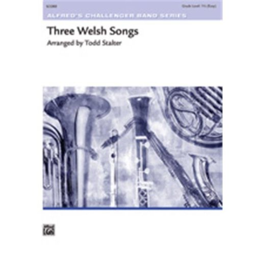 Alfred 00-39611 THREE WELSH SONGS-CH