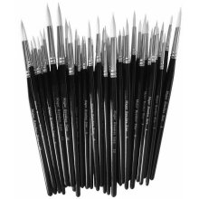 Major Brushes Sable Substitute Size 10 Pack 10