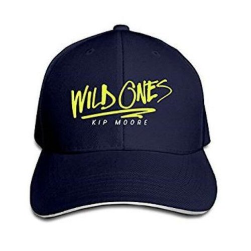 Wild Ones Kip Moore Country Music Trucker Hat Fitted Sandwich Cap Cap