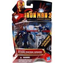 Iron Man 2 Movie 4 Inch Action Figure #40 Stark Racing Armor