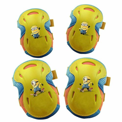 Despicable ME 2 Minion Pad Set For Kids With 2 Knee and 2 Elbow Pads