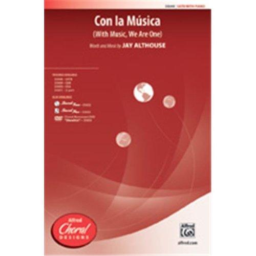 Alfred 00-35652 CON LA MUSICA-STRX CD