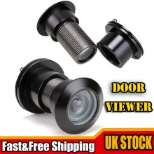 Peephole Door Viewer 220-Degree Eye Spy Hole Adjustable Privacy Cover