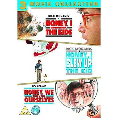 Honey, I Shrunk The Kids / Honey, I Blew Up The Kid / Honey, We Shrunk Ourselves DVD [2009]