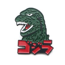 Godzilla Monsters Enamel Pins Anime Metal Brooch