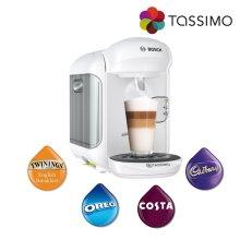 Tassimo Vivy 2 Costa Coffee Hot Drinks Machine White 1300W TAS1404 Bosch