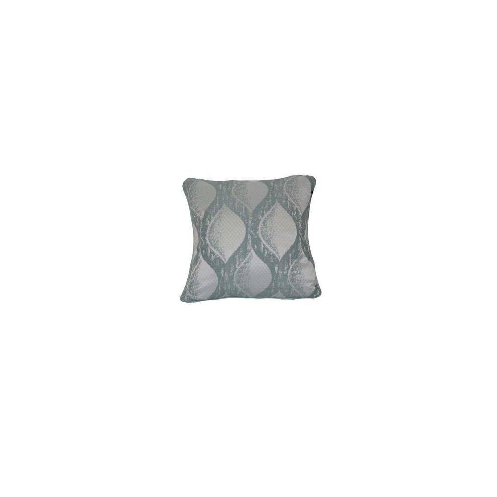 Urban Loft by Westex Tartan Green Feather Filled Decorative Throw Pillow Cushion 20 x 20