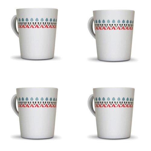 OLPRO Witley Melamine Mug Set (Pack of 4)