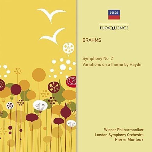 Monteux Pierre - Brahms: Symphony No 2 Etc [CD]