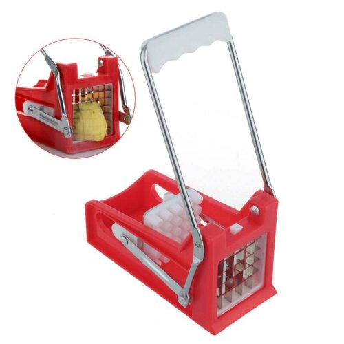 Chip Fry Potato Chipper French Fries Dicer Slicer Chipping Cutter