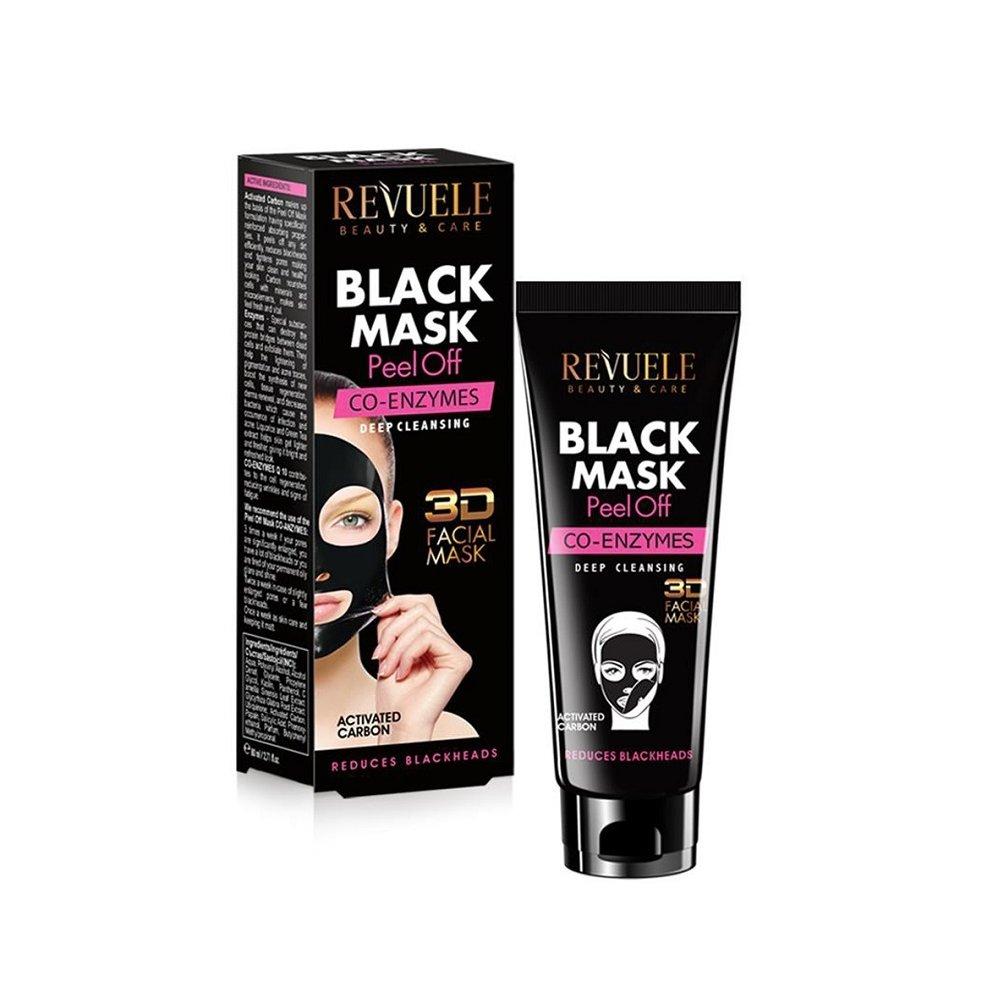 Revuele Black Mask Peel Off Co-Enzymes