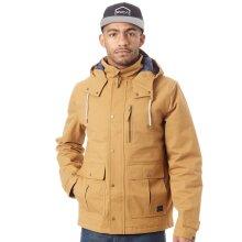 Animal Dijon Brown Scafell Water Resistant Jacket - S