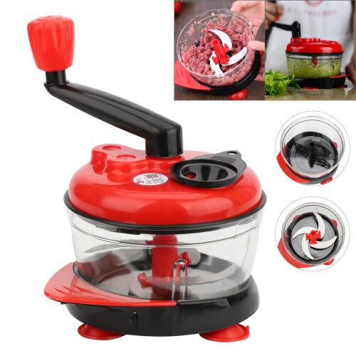 Manual Slicer Food Cutter Fruit Vegetable Cutter Chopper Grater Rotary