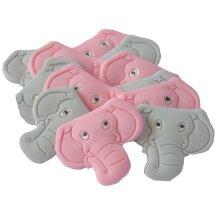 12 Elephants Edible Birthday Baby Shower Cupcake Cake Toppers
