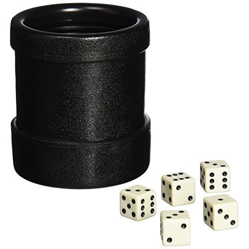 Lucky Dice and Cup Set