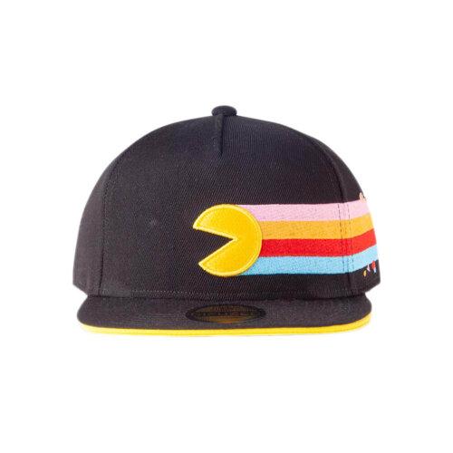 Pac-Man Rainbow Trail 40th Anniversary Snapback Cap