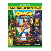 Crash Bandicoot NSane Trilogy (Xbox One) - Used