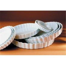 Pillivuyt 280325BL Round Tart Dish - 10 Inch