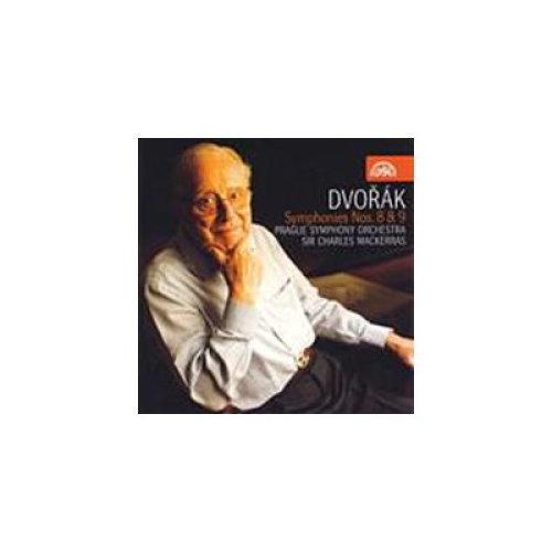 SIR CHARLES MACKERRAS - DVORAK SYMS 8 & 9  - CD