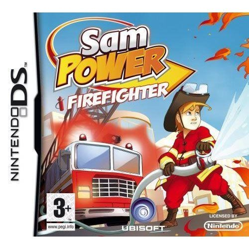 Sam Power Fire Fighter Nintendo DS Game